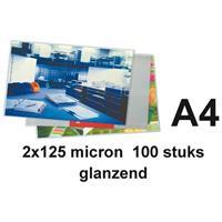 Quantore Lamineerhoes  A4 2x125micron 100stuks