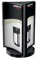 Deflecto roterende folderhouder, ft A6, zwart