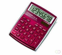 Bureau rekenmachine Allround, rood