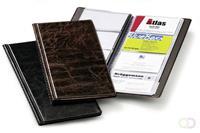 Durable Visitekaartalbum Visifix 200 - generfd Bruin
