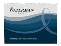 Waterman Inktpatroon  internationaal blauw-zwart