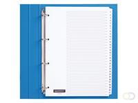 Quantore Tabbladen  4-gaats 1-31 genummerd wit karton