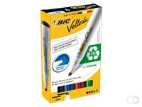 Bic Viltstift  1751 whiteboard schuin ass 3-5.5mm set à 4st