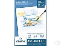 Canson Aquarelblok  A5 300gr 10vel