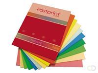 Fastprint Kopieerpapier  A4 80gr 10kleuren x25vel 250vel