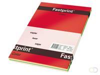 Fastprint Kopieerpapier  A4 80gr 5 felle kleuren 250vel