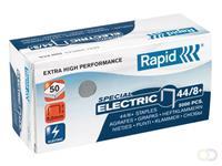 Rapid Nieten voor electrische nietmachines 44/8+ verzinkt (pak 5000 stuks)