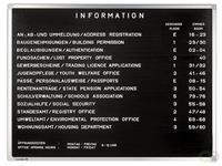 Premium - Informatiebord - 60 x 80 cm