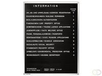 Premium - Informatiebord - 80 x 60 cm