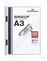 Durable DURACLIP KLEMMAP A3 BLAUW