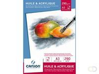 Canson Olie Aquarelblok  A3 290gr 10vel