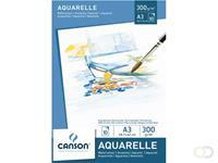 Canson Aquarelblok  A3 300gr 10vel