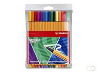 Fineliner Stabilo Point 88/15-3 Colorful at Random 15 stuks assorti