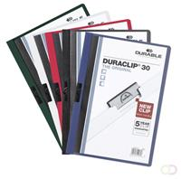 Durable DURACLIP KLEMMAP(5)DONKERBLAUW