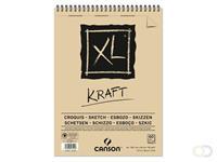 Canson Schetsblok Canons XL Kraft A3 spiraal 60v 90gr