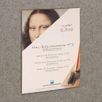 Schoellershammer Schilder/tekenpapier Nr.2 A3 grijs 110g/m2 blok 50 vel