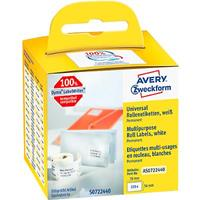 Avery Zweckform AVERY® universele etiketten, permanent