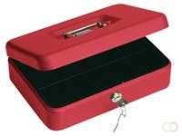 Pavo Geldkist  250x180x90mm rood