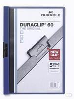 Durable DURACLIP KLEMMAP 6MM DONKERBLAUW