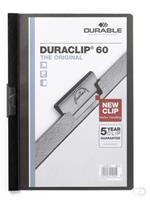 Durable DURACLIP KLEMMAP 6MM ZWART