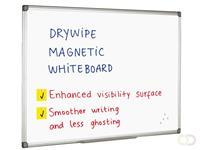 Quantore Whiteboard 100x200 cm - Magnetisch