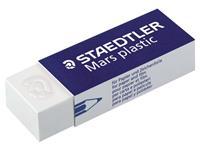 Staedtler Mars Gum Mars plastic Wit (blister 4 stuks)