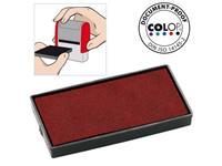 Colop Reserve kussen t.b.v. zelfinktende stempels E/40 rood voor Printer 40 (pak 2 stuks)