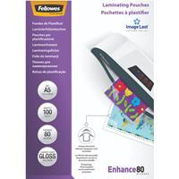 Fellowes Lamineerhoezen ImageLast 80 mic A5 (100 Stuks)