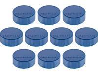 magnetoplan Magneet Discofix Magnum (Ã x h) 34 mm x 13 mm rond Donkerblauw 10 stuk(s) 1660014
