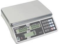kern CXB 6K0.5+C Telweegschaal Kalibratie DAkkS Weegbereik (max.) 6 kg Resolutie 0.5 g werkt op het lichtnet, werkt op een accu Zilver Kalibratie DAkkS