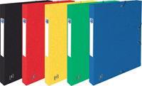 Elba elastobox Oxford Top File+ rug van 2,5 cm, geassorteerde kleuren