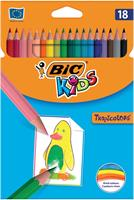 Bic Kids kleurpotlood Tropicolors, etui van 18 stuks
