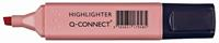 Q-Connect markeerstift pastel, roze