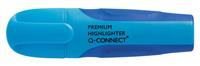 Q-Connect Premium markeerstift, blauw