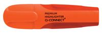 Q-Connect Premium markeerstift, oranje