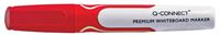Q-Connect whiteboard marker, ronde punt, rood