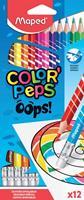 Maped kleurpotlood Color'Peps Oops, 12 potloden in een kartonnen etui