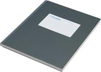 Atlanta by Jalema notitieboek, ft 165 X 210 mm, 128 bladzijden, grijs