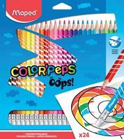 Maped kleurpotlood Color'Peps Oops, 24 potloden in een kartonnen etui