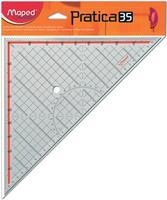 Maped geodriehoek Practica