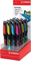 Stabilo vulpen EASYbuddy display met 16 stuks in geassorteerde kleuren