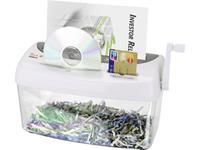 peach PS300-21 Papierversnipperaar Cross cut 3.5 x 40 mm 4 l Aantal bladen (max.): 1 Veiligheidsniveau 4 Ook geschikt voor CDs, DVDs, Creditcards