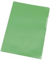 Q-Connect L-map, groen, 120 micron, pak van 10 stuks