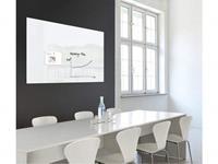 Sigel glasmagneetbord XL  Artverum 1200x900x18mm wit