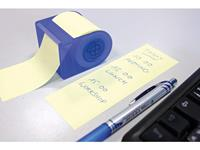Info Notes dispenser + rol voor rollen 60mmx10m