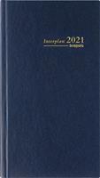 Brepols agenda Interplan Lima, 2021, blauw