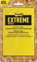 Post-it Extreme Notes, ft 114 x 171 mm, 2 blokken van 25 blaadjes, geassorteerde kleuren