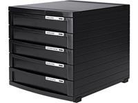 HAN 1505-13 Ladebox Zwart DIN A4, DIN B4, DIN C4 Aantal lades: 5