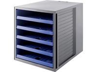 han 14018-16 14018-16 Ladebox Grijs DIN A4 Aantal lades: 5
