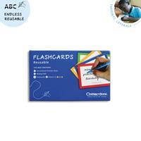 Correctbook Flashcards (systeemkaarten), ft A5, uitwisbaar / herbruikbaar, gelijnd, set van 6 stuks